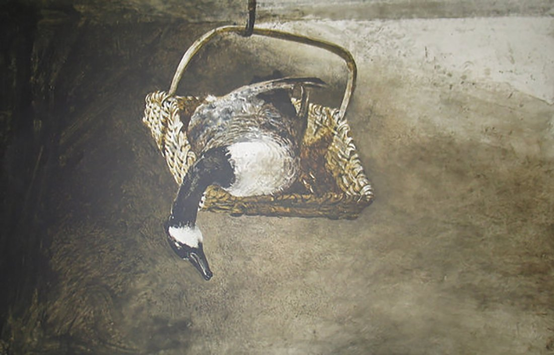 """Andrew Wyeth """"Canada"""" Collotype Hand Signed & Numbered"""