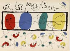 Joan MIRO, The Birds, 1956, Lithograph Signed & number