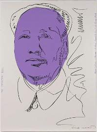 Andy Warhol, MAO, 1974, Silkscreen hand signed