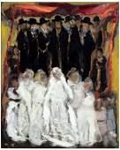 MANE-KATZ (1894-1962), The Wedding, Oil/Canvas