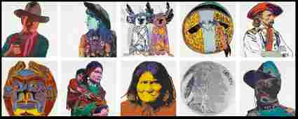 ANDY WARHOL, Cowboys and Indians (F. & S. II.377-386)