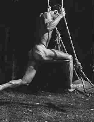 BRUCE WEBER, 1987 Body Physique Arango Swing