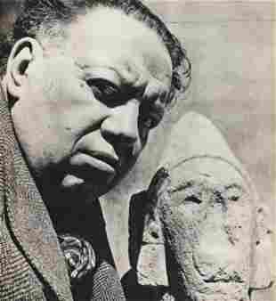FRITZ HENLE, 1946 DIEGO RIVERA, Photo Gravure