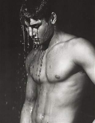 BRUCE WEBER, JUSTIN LAZARD Muscle Body, 1986