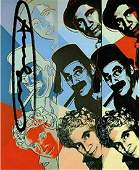 Andy Warhol, Marx Brothers Ten Portraits of Jews signed