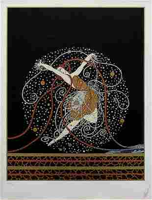 Erte, Ondee - 1983, Serigraph Signed & numbered