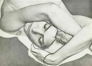 """Man Ray, 1931 Original Photo Gravure Art """"NATASHA"""""""