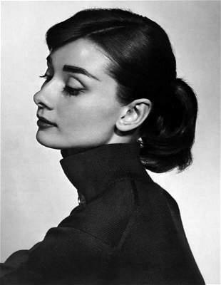 YOUSUF KARSH, Audrey Hepburn - 1956