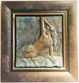 "Bill Mack ""NUDE WOMAN"" Bronze Sculpture 2000 Signed &"