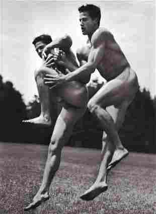 BRUCE WEBER Male Nude CARLSON Twin, 2001
