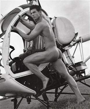 BRUCE WEBER, Helicopter Aviation, Photo Engraving 2000