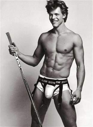 BRUCE WEBER, Hockey MATS CHRISTEEN, Photo Engraving