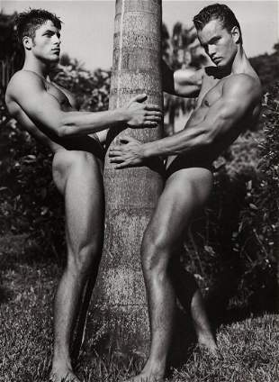 BRUCE WEBER, Palm Tree Florida, Photo Engraving 1992