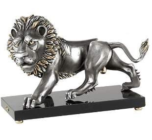 Frank Meisler, ROYAL LION SCULPTURE, Meisler Gallery