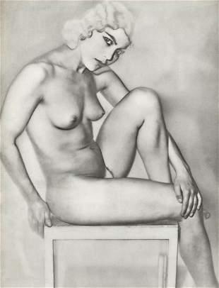 MAN RAY Female, Natasha - 1930 Photo Gravure