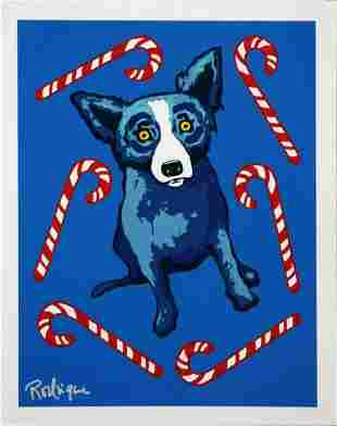 George Rodrigue - Sweet Like You, Screen Print 2000 sig