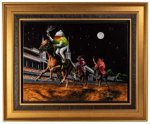 """Michael Godard """"DAILY DOUBLE MOUNTAIN HIGH"""" Signed/#"""