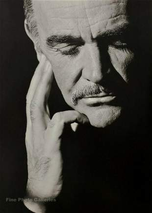 HERB RITTS, SEAN CONNERY, 1989