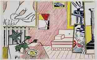 Roy Lichtenstein, Foot Medication 1974 Hand Signed