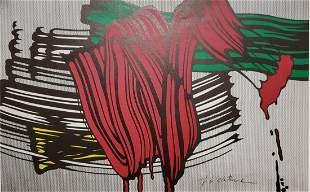 Roy Lichtenstein - Big Painting VI 1965, Lithograph sig