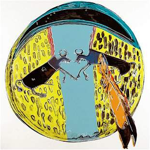 Andy Warhol, Indian Shield, Cowboys and Indians, 1986