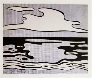 ROY LICHTENSTEIN, Untitled 1965, Hand Signed litho