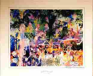 Leroy NEIMAN, Hand Signed TAVERN On The GREEN