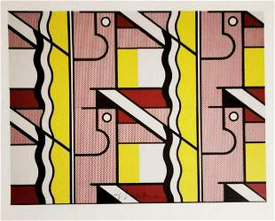 ROY LICHTENSTEIN, Modular Painting with Four Panel
