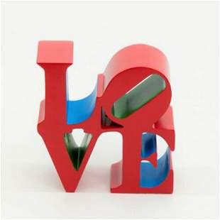 ROBERT INDIANA - Love Red,  L/ED. include original COA