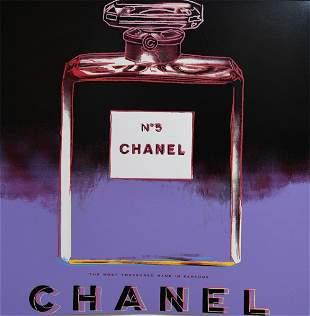 "Andy Warhol, ""CHANEL No 5"" , 1985 silkscreen"