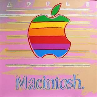 "Andy Warhol, ""Apple from Ads Portfolio"", 1985"