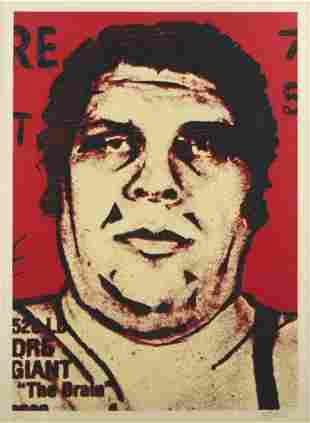 Shepard Fairey (Obey), Andre The Giant, Large Format