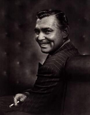 YOUSUF KARSH, CLARK GABLE Hollywood - 1948