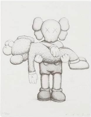 KAWS, Companionship, ScreenPrint Signed & Numbered