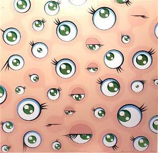 """Takashi Murakami """"Jellyfish Eyes"""" Signed & numbered"""