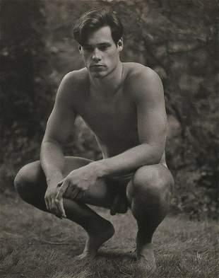 BRUCE WEBER Outdoor Male Nude Model BILLY 1987