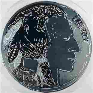 Andy Warhol, Indian Head Nickel, Cowboys and Indians,