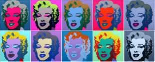 Andy Warhol Marilyn Monroe Portfolio 1967. Silkscreen
