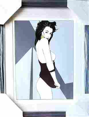 Patrick Nagel, from the The Playboy Portfolio, 1989,