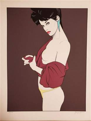 Patrick Nagel, from the The Playboy Portfolio, 1989