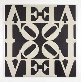 "Robert Indiana ""Love Rising"" 1968 Limited edition"