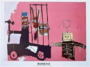"Jean-Michel Basquiat, ""Molasses"" Original 1983"
