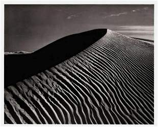 ANSEL ADAMS White Sands Dunes New Mexico - 1949