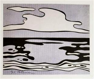 ROY LICHTENSTEIN, Untitled 1965, Hand Signed litho