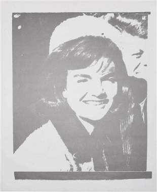 ANDY WARHOL, Jackie I, 11 Pop Artists, (F. & S. II.13)