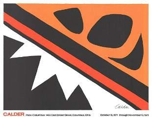 ALEXANDER CALDER, La Grenouille et la Scie - 1971