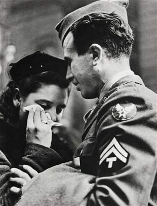 Alfred Eisenstaedt, 1941 Military Pennsylvania Station