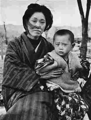 ALFRED EISENSTAEDT, 1946 Hiroshima Survivor