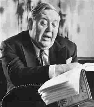 ALFRED EISENSTAEDT, 1950's Charles Laughton