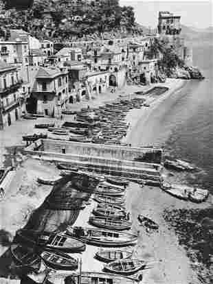 ALFRED EISENSTAEDT, 1966 Italy Amalfi Coast